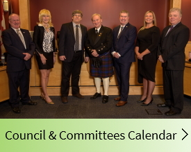 View our Council & Committees Calendar page