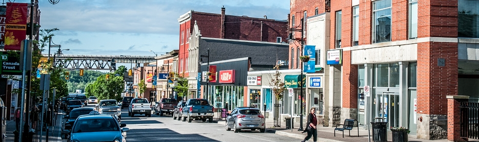 Downtown Parry Sound