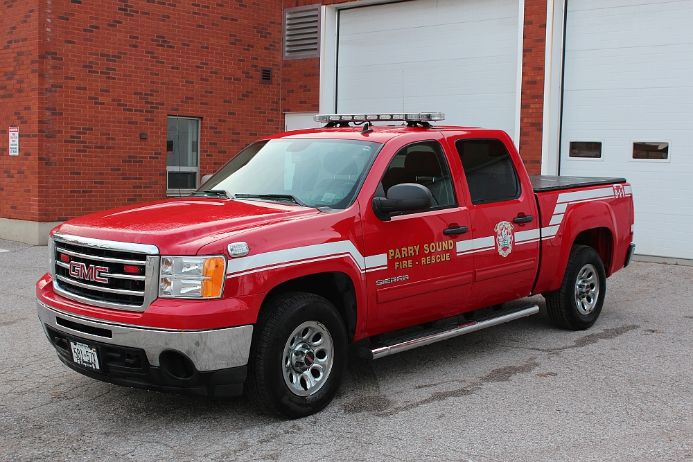 Fire Chief's Truck