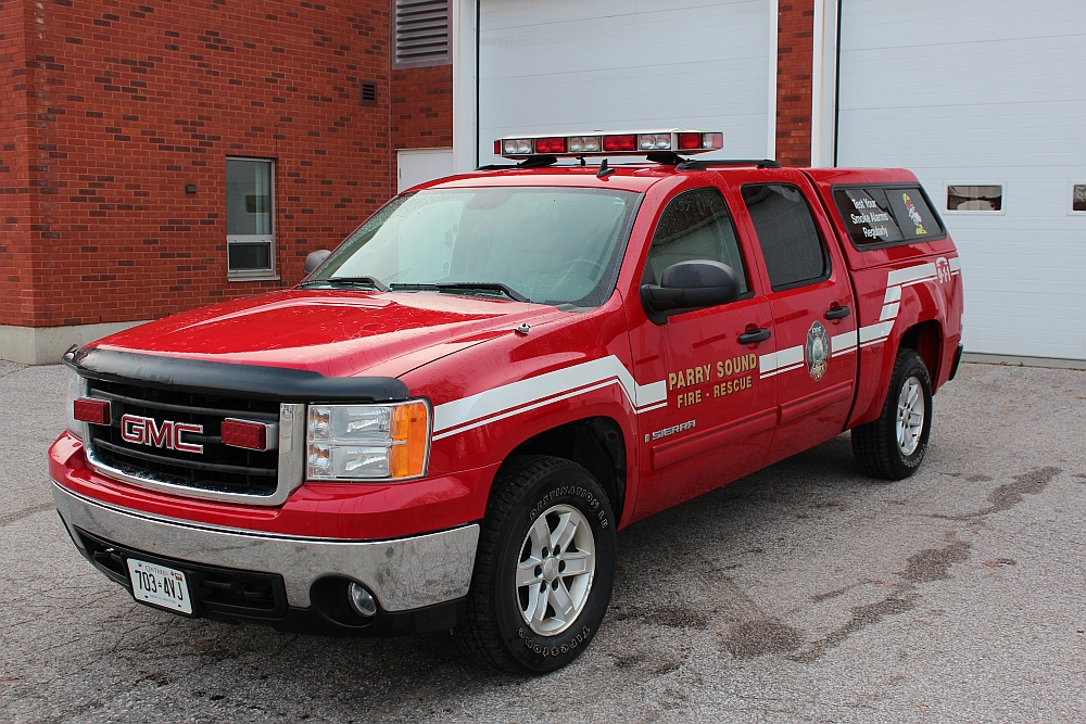 Fire Protection Officer's Truck