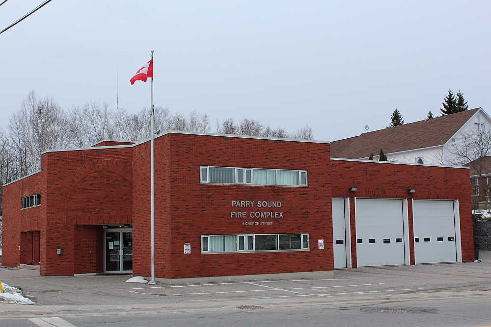 Parry Sound Fire Hall
