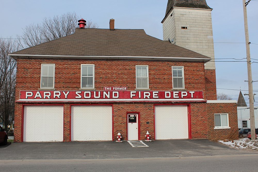 The original Parry Sound Fire Hall