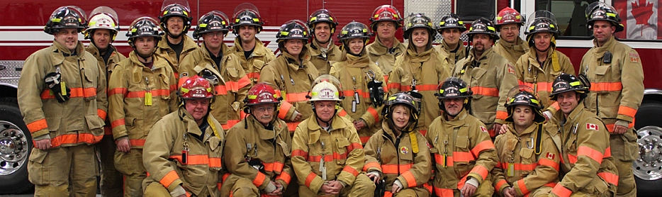 Parry Sound Fire fighters