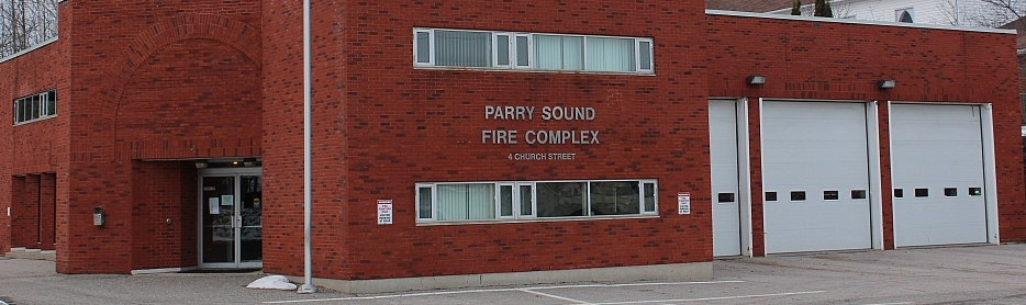 Town of Parry Sound Fire Hall