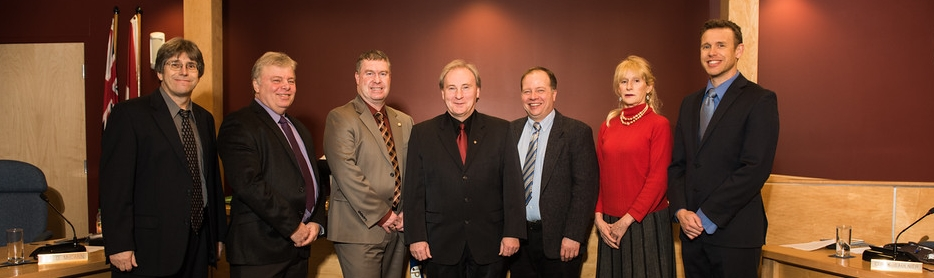 Town of Parry Sound Council Group Picture