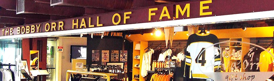 photo of bobby orr hall of fame entrance